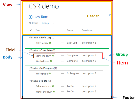 CSR_Templates
