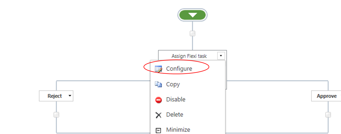 flexiTaskConfigure